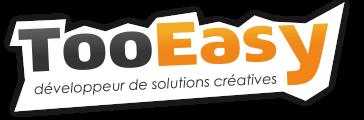 Logo de TooEasy, l'agence web de création de sites Internet sur Valence (Drôme Ardèche)