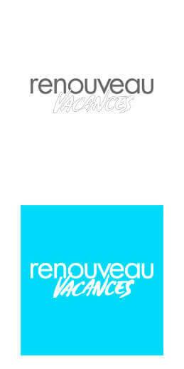 Logo Renouveau Vacances : création blog WordPress et stratégie webmarketing