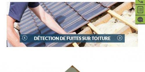 Illustration Création du site vitrine administrable d'AC Fuite sur Montpellier (34)