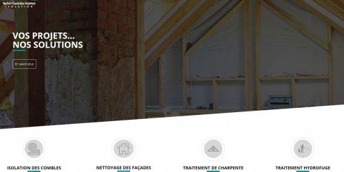 Illustration Création du site administrable de Techni Contrôle Habitat à Portes lès Valence (Drôme)