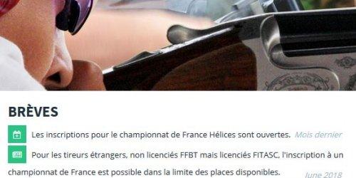 Illustration Création du site e-commerce de la FFBT (Fédération Française de Ball-Trap) à Malakoff (92)