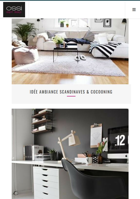 cr ation du site wordpress d 39 ossi design valence dr me. Black Bedroom Furniture Sets. Home Design Ideas