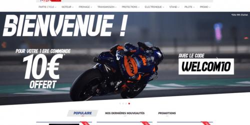 Illustration Création du site ecommerce Racing Bike dans la Drôme, à Pierrelatte.