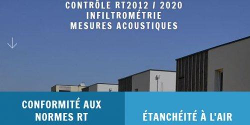 Illustration Création du site internet WordPress DCCI, expert en performance énergétique des bâtiments en Auvergne - Rhône-Alpes