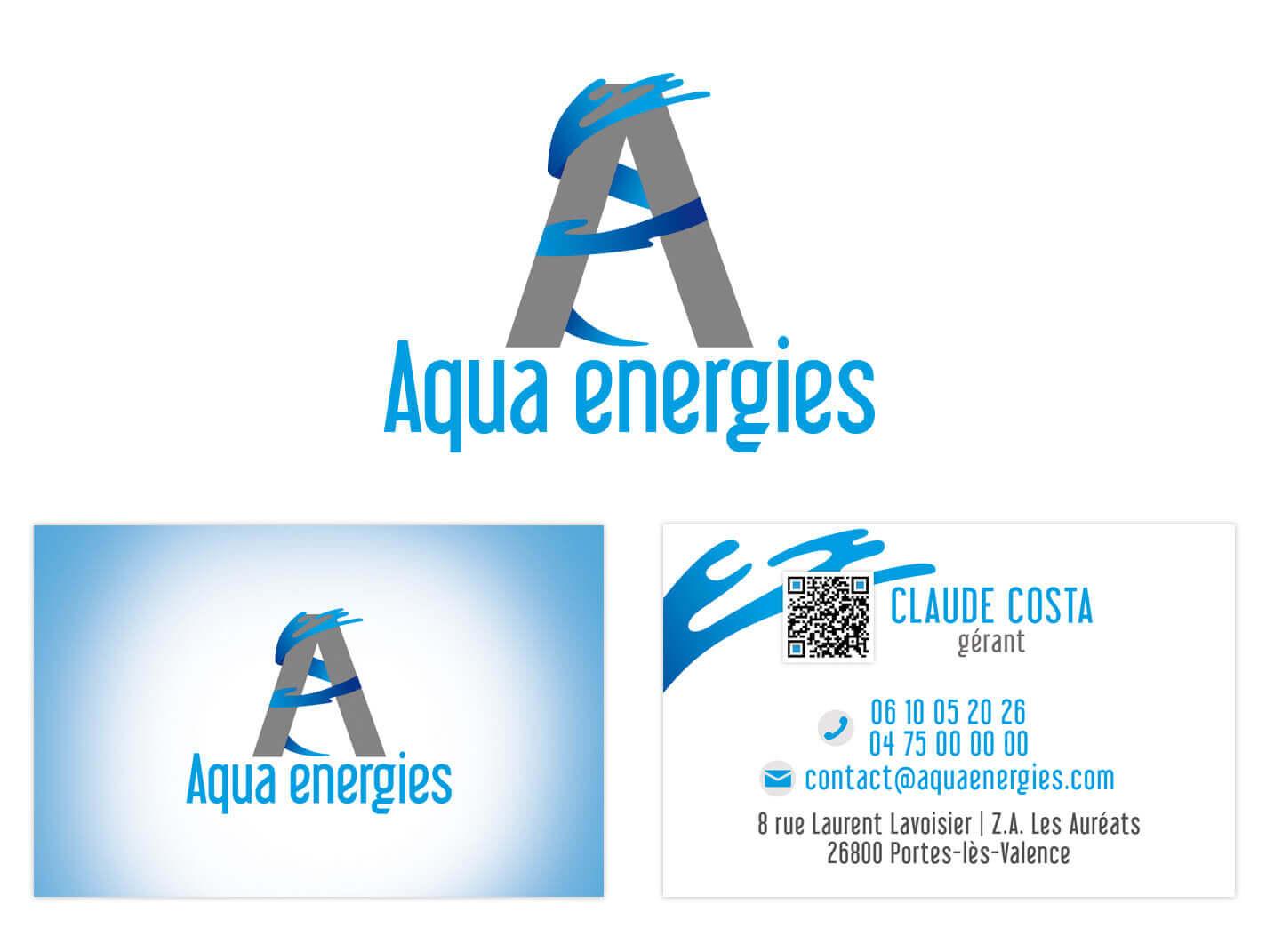 Carte De Visite Aqua Energie
