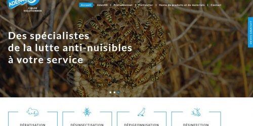 Illustration Refonte du site vitrine Aden 4D en Ardèche