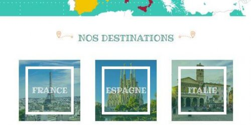 Illustration Création du site administrable du Monde en Main à Sonnay (Drôme)