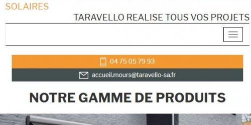 Illustration Création du site administrable de Taravello Energie à Mours-Saint-Eusèbe (Drôme)