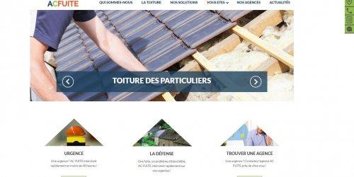 Illustration Création du site administrable d'AC Fuite sur Montpellier (34)