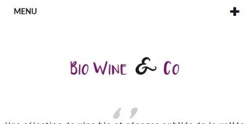 Illustration Création du site e-commerce Prestashop de Biowine & Co en Drôme