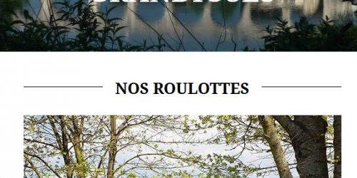 Illustration Création du site web WordPress pour les Roulottes du Vercors à Saint-jean-en-Royans (Drôme)
