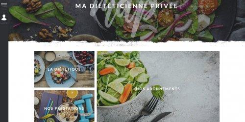 Illustration Création du site e-commerce de Ma Diététicienne Privée en Drôme (26)