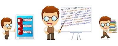 Image Programme Programmeur CRM - ERP