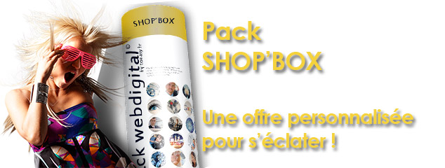 Image PACK E-COMMERCE SHOP'BOX