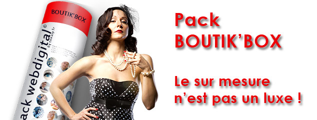 Image PACK E-COMMERCE BOUTIK'BOX
